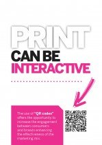 Are you making your printed literature interactive?