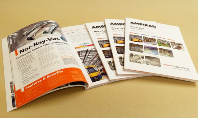Printed brochures for marketing success